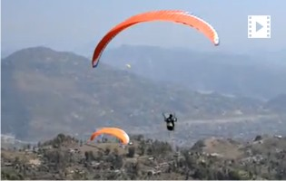 Beauty of Nepal Paragliding